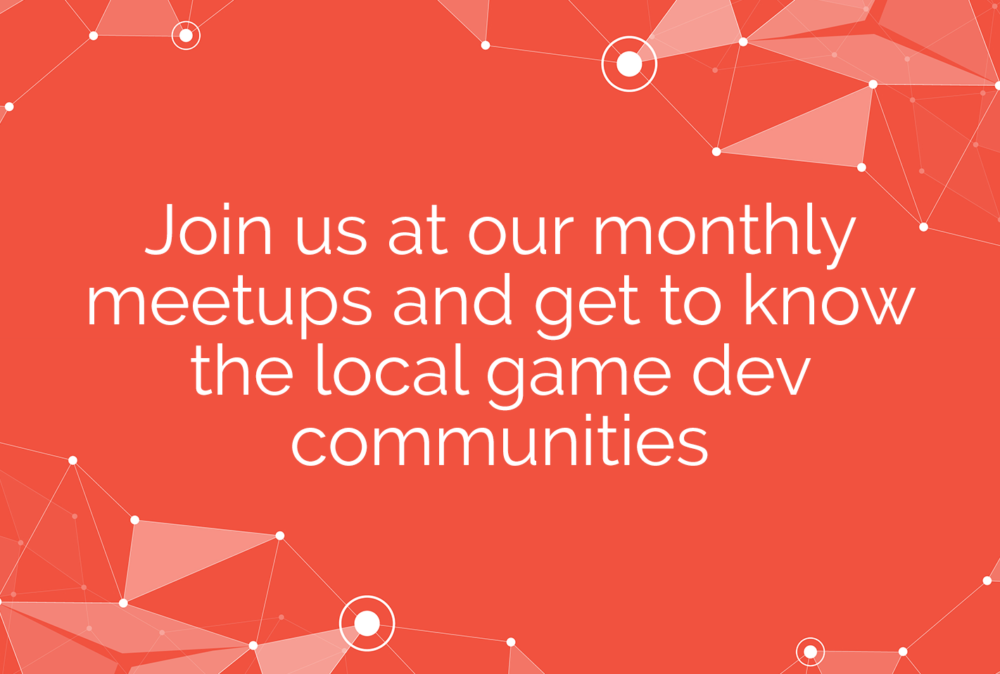 Join our monthly meetups