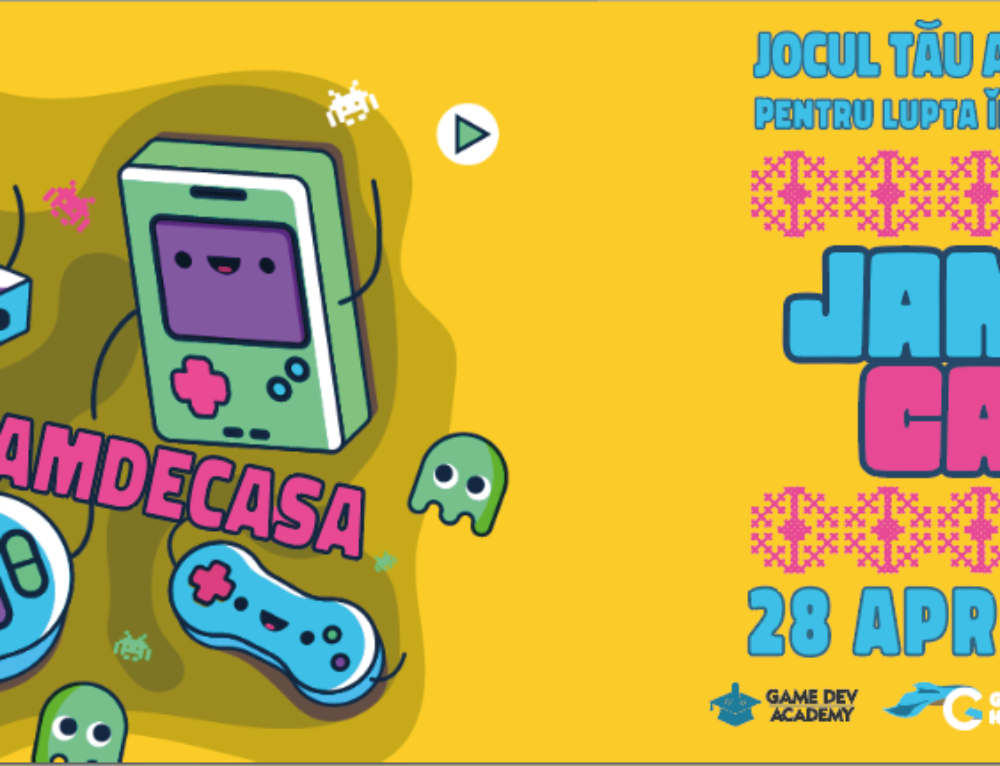 "PRESS RELEASE: Launch of ""Homemade Jam"", a Game Jam to create the biggest online platform for family friendly free Romanian games"